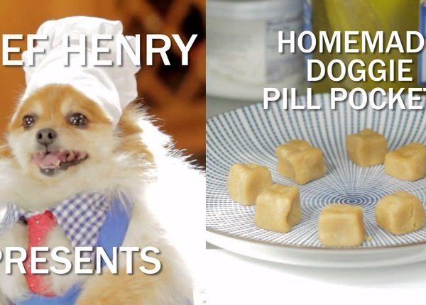 chef henry with pill pockets