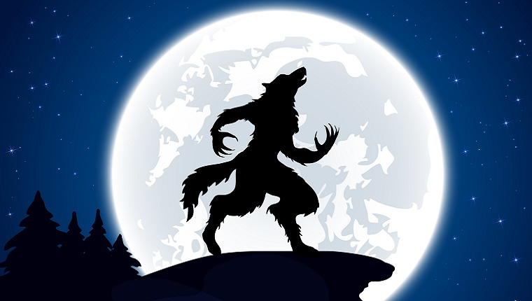 Ihr Hund heult den Mond an - Werwölfe toben darunter
