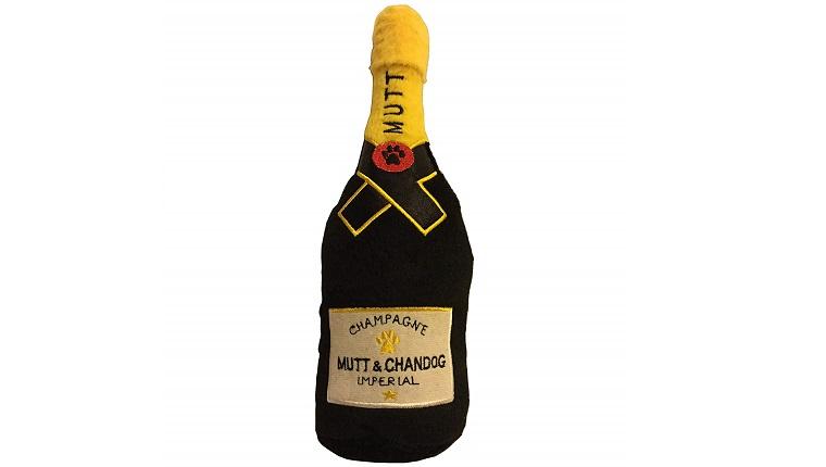 Champagnerflasche Plüschtier