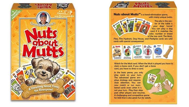 Nüsse über Mutts Brettspiel